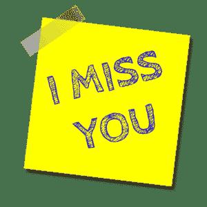 Я скучаю по тебе