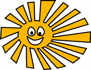 Солнце с улыбкой, чтобы утро было добрым
