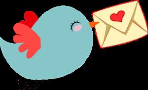 Птица с любовным письмом для мужа